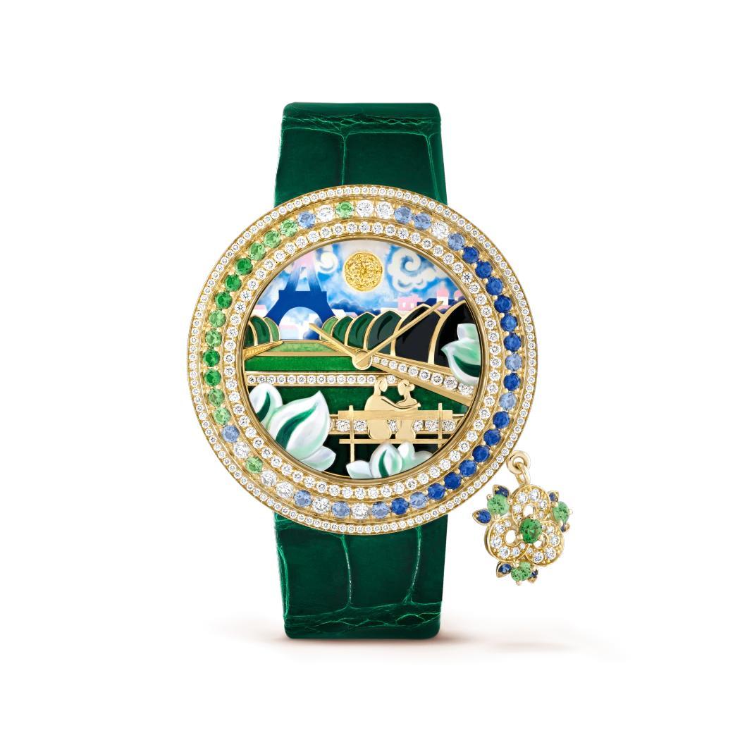 ساعة تشارمز رومانس باريزيين بروموناد من فان كليف أند آربلز Van Cleef & Arpels
