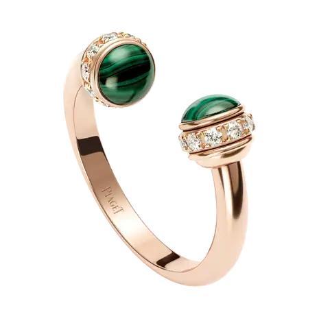 خاتم بوسيشن مفتوح من علامة بياجيه «Piaget»