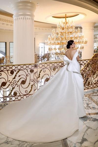 مرام زبيدة بفستان زفاف من توقيع المصمم نيكولا جبران