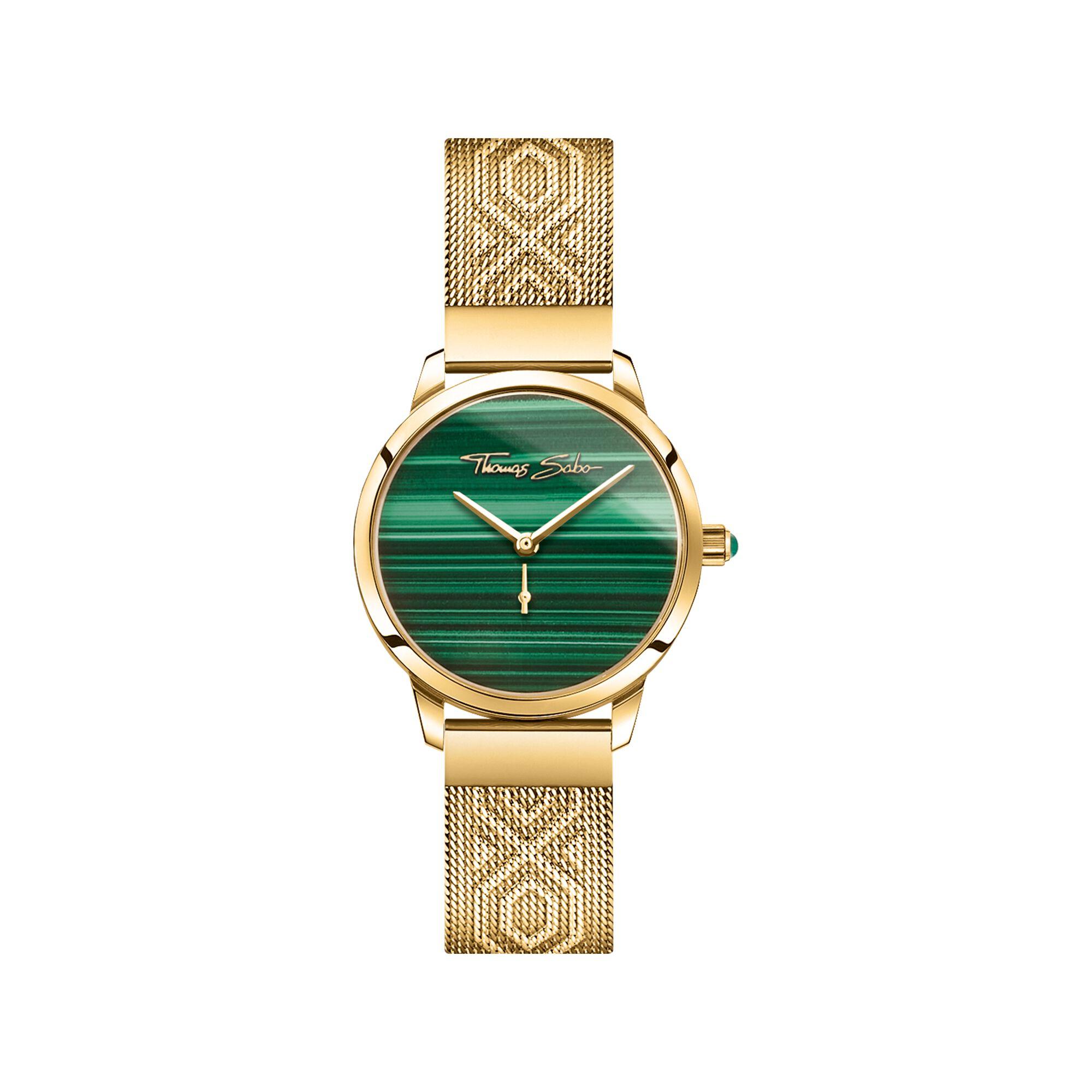 ساعة بمينا خضراء من توماس سابو Thomas Sabo