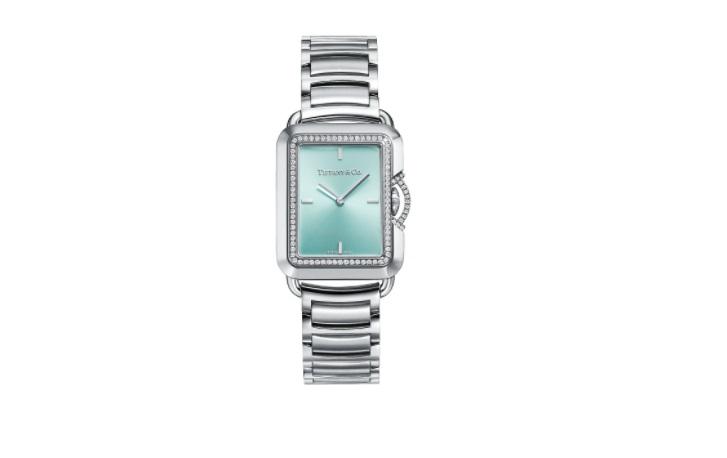 ساعة بمينا خضراء من تيفاني آند كو Tiffany & Co