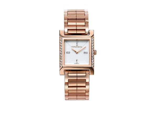 ساعة مرصعة بالماس من تيفاني أند كو Tiffany & Co