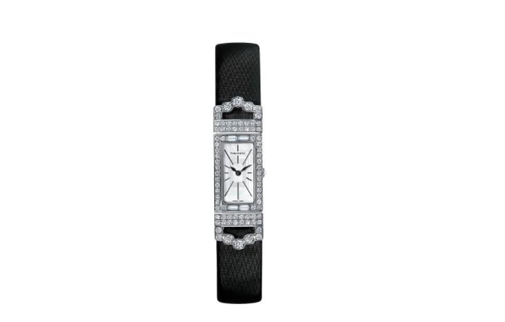 ساعة يد مرصعة بالألماس من تيفاني آند كو Tiffany & Co