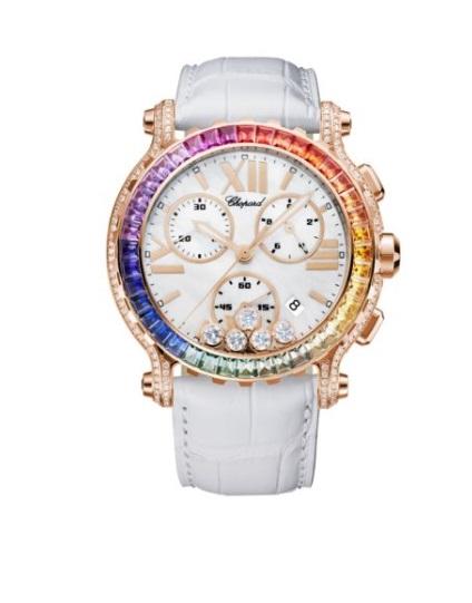 ساعة ملونة من شوبارد Chopard