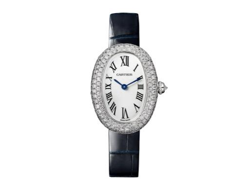 ساعة مرصعة بالماس من كارتييه Cartier