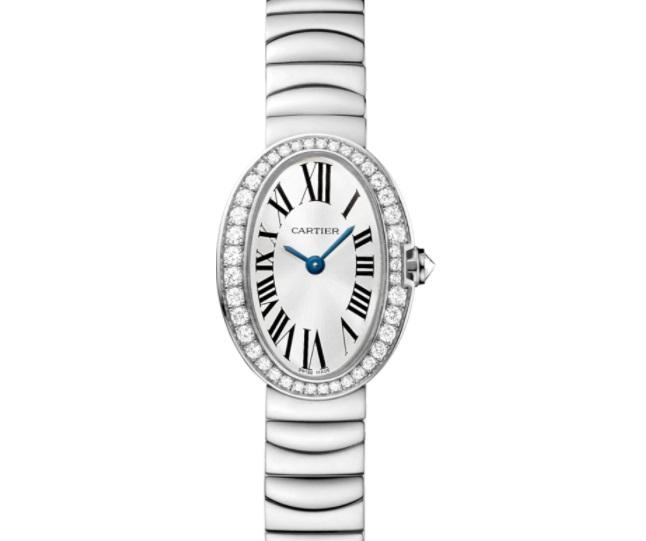 ساعة يد مُرصعة بالألماس من كارتيير Cartier