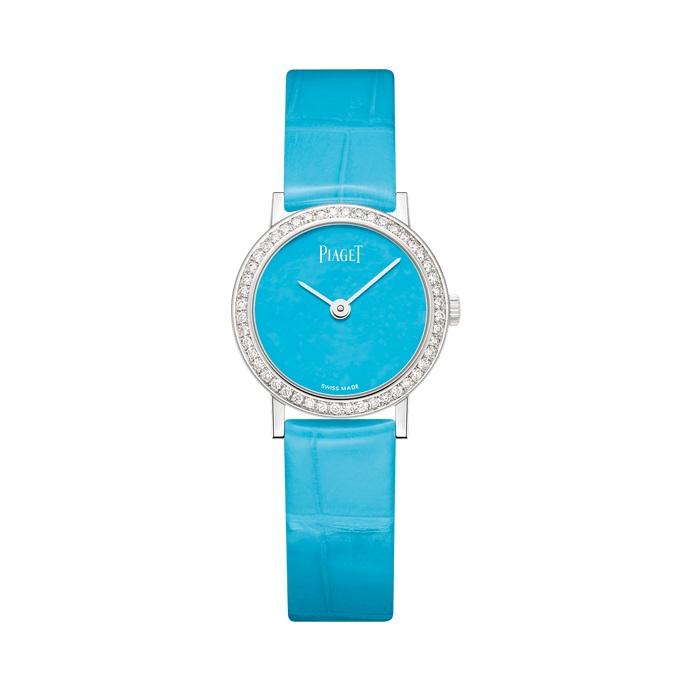 ساعة زرقاءمن بياجيه Piaget