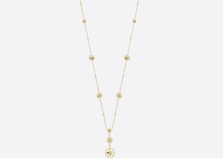 سلسلة من الذهب الأصفر من ديور Dior