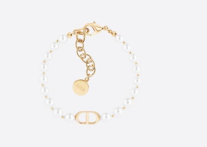 سوار من الذهب واللؤلؤ من ديور «Dior»