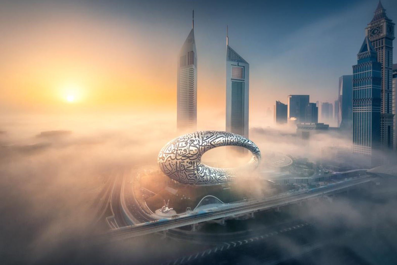 متحف المستقبل.. الصورة من المكتب الإعلامي لحكومة دبي