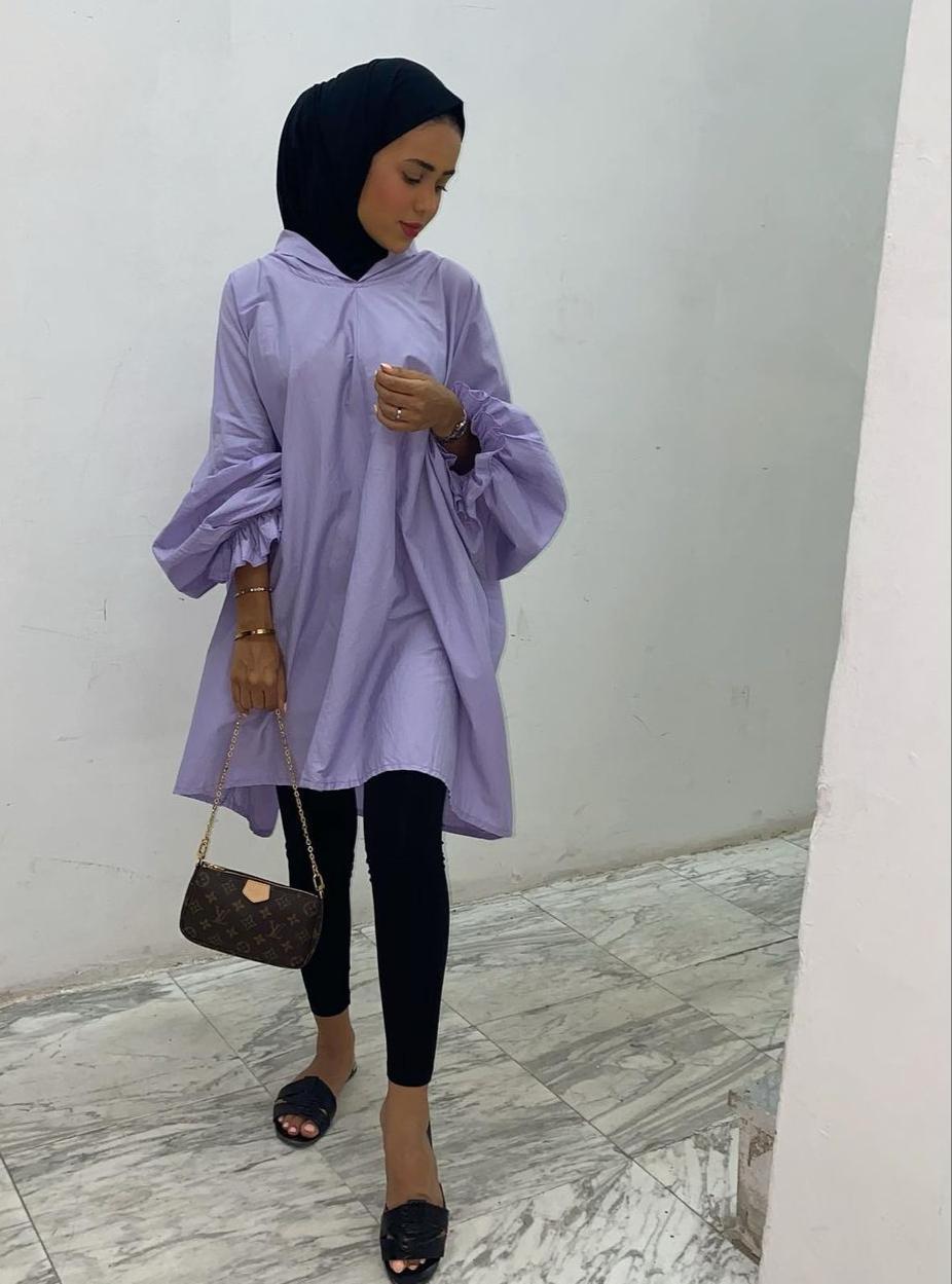2 سارة الدهيم بالتونيك -الصورة من حسابها على الانستغرام