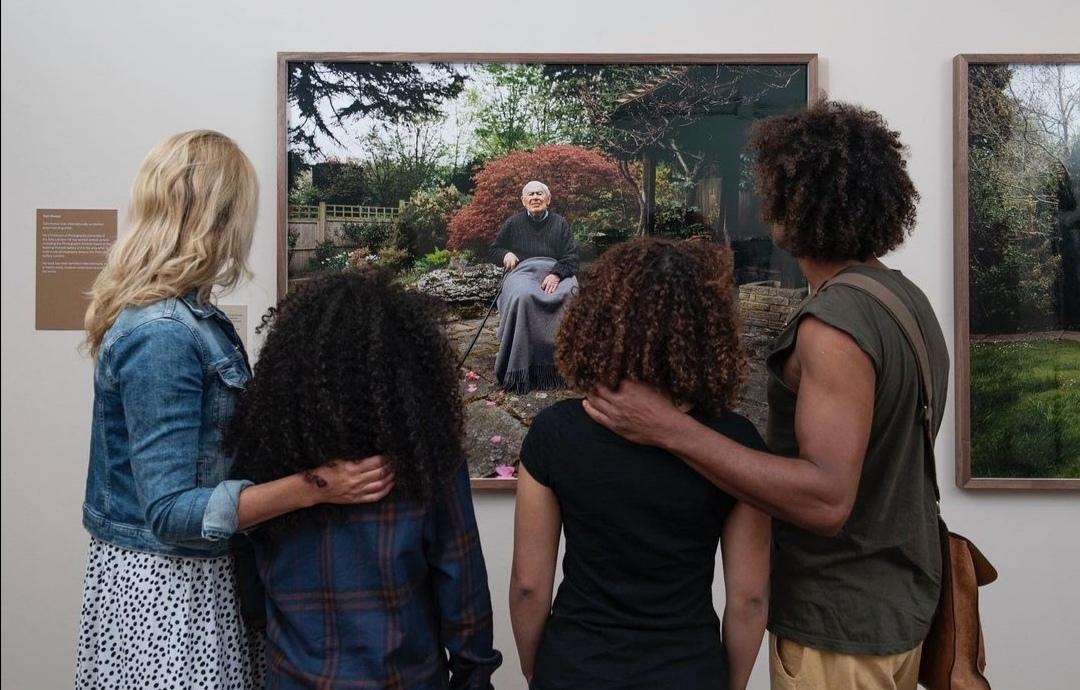 إفتتاح المعرض- الصورة من حساب دوق ودوقة كامبريدج على إنستغرام