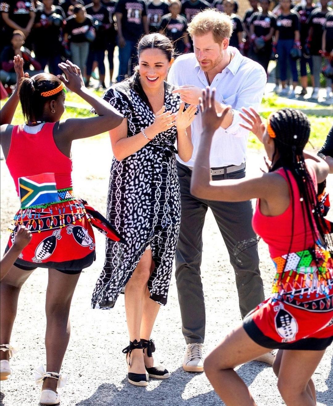 ميغان وهاري في جنوب إفريقيا- الصورة من حساب دوق ودوقة ساسكس على إنستغرام