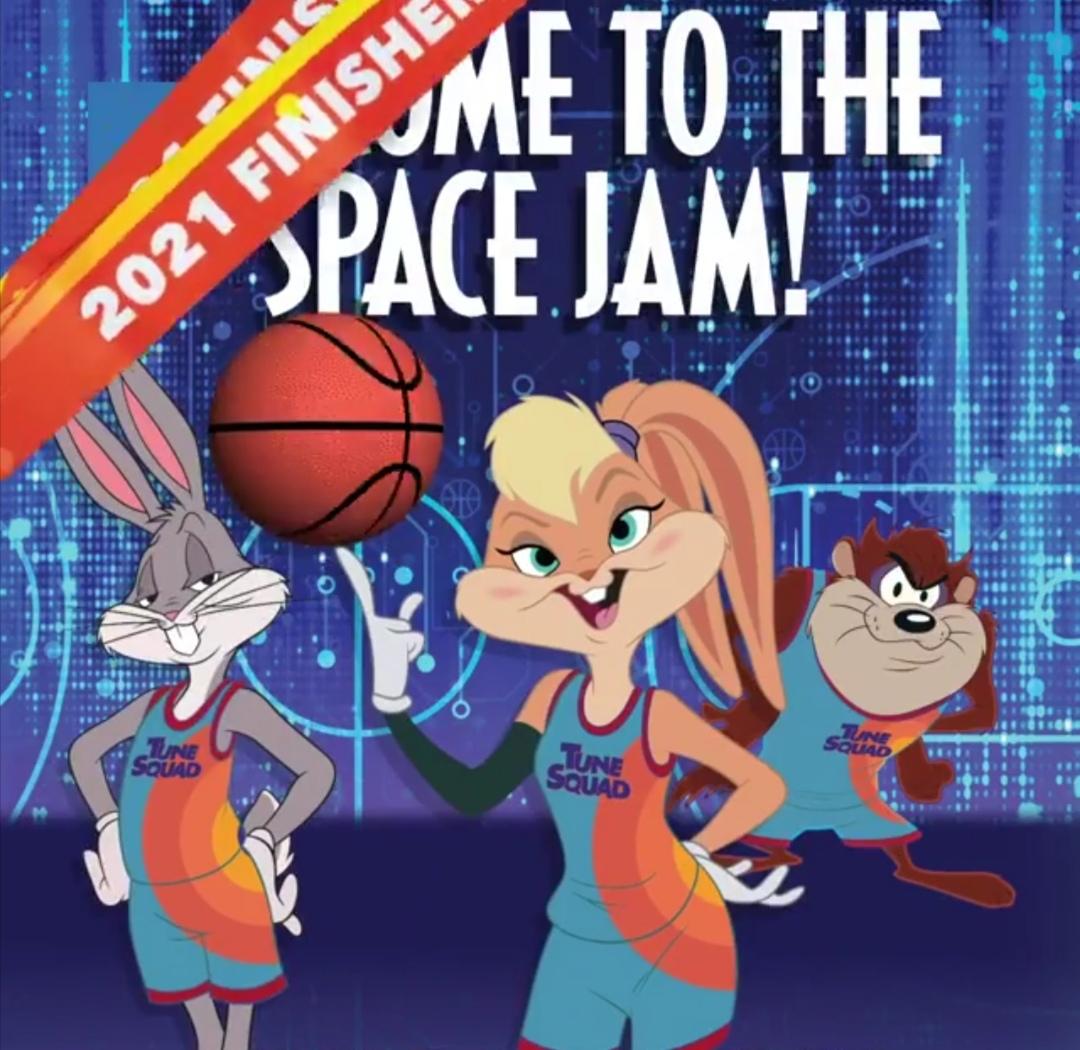 Space Jam- الصورة من حساب الفيلم على إنستغرام