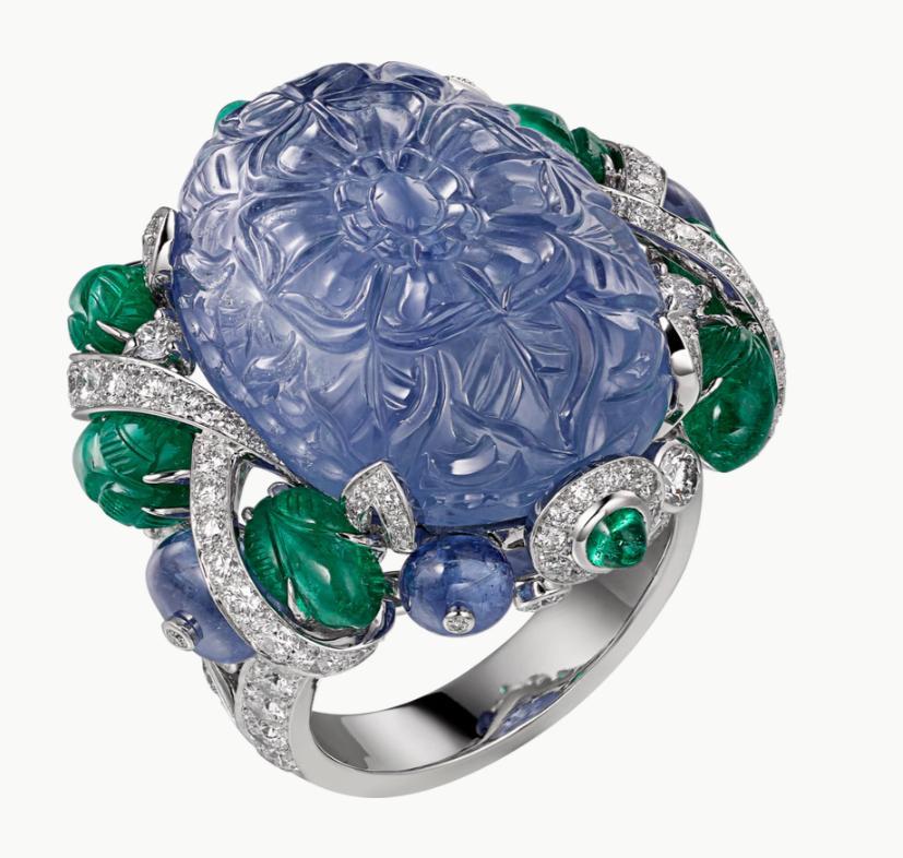 خاتم من مجموعة المجوهرات الفاخرة لدار كارتييه Cartier