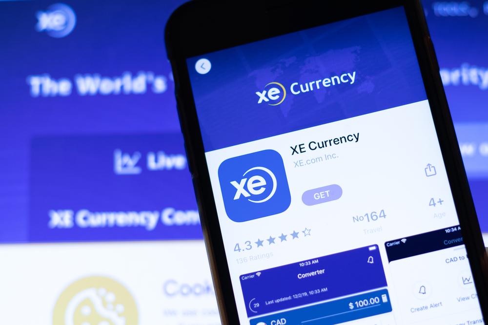 تطبيقات الجوال الخاصة بتحويل العملات