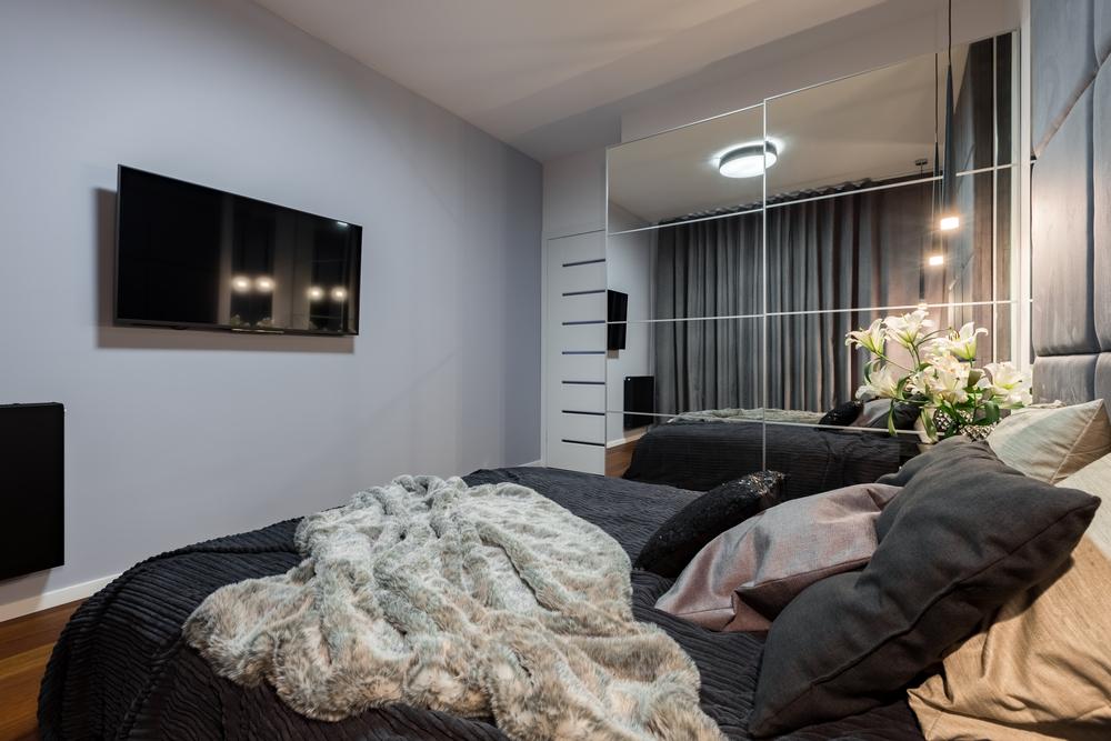 أماكن التلفزيون في غرفة الجلوس