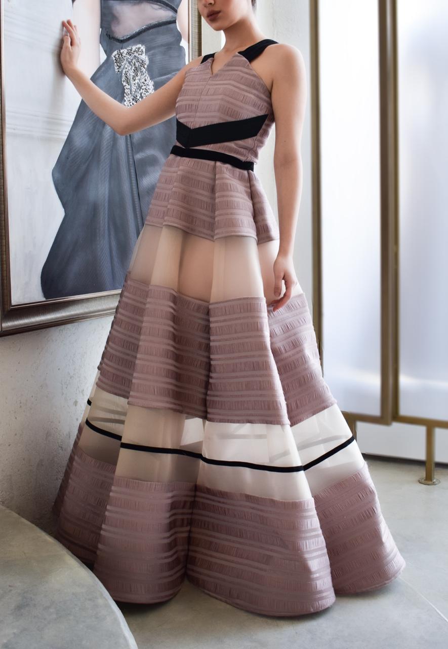 فستان عروس من توقيع المصممة بلقيس القضيب