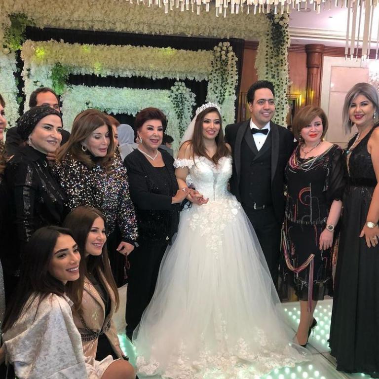 زفاف الفنانة غادة رجب