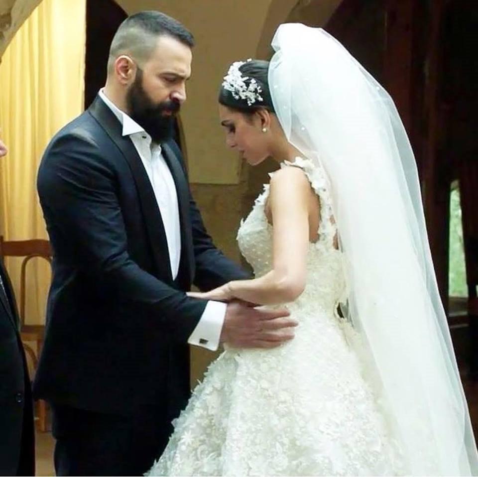 زفاف الممثل تيم حسن وفاليري أبو شقرا