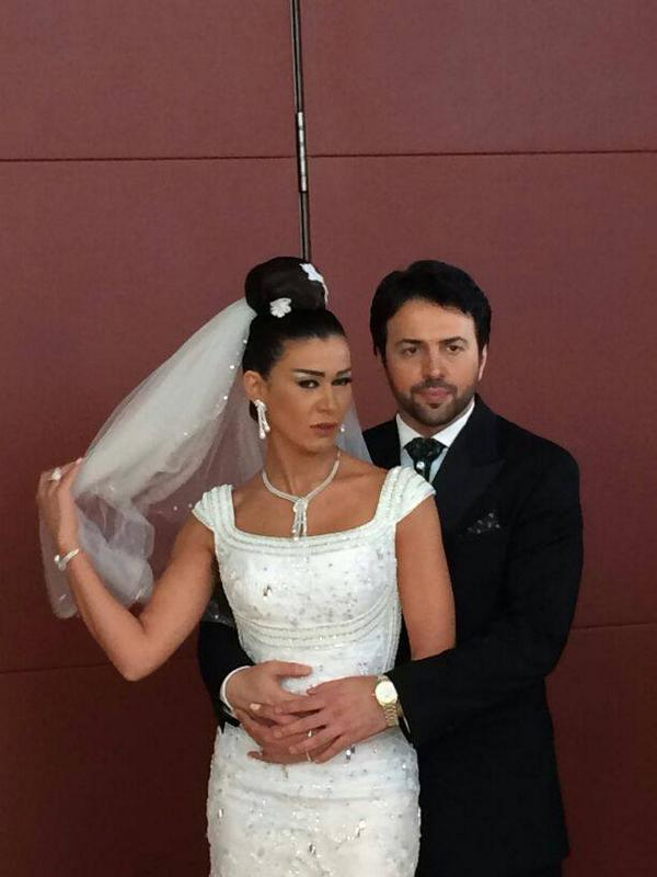 زفاف الممثل تيم حسن ونادين الراسي