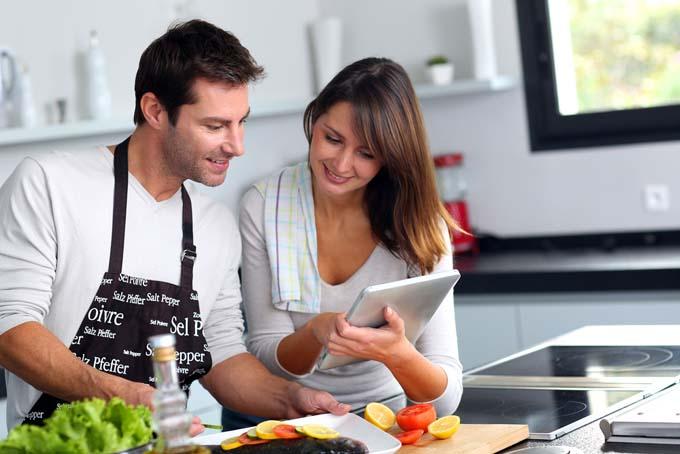 الطهو مع الزوج