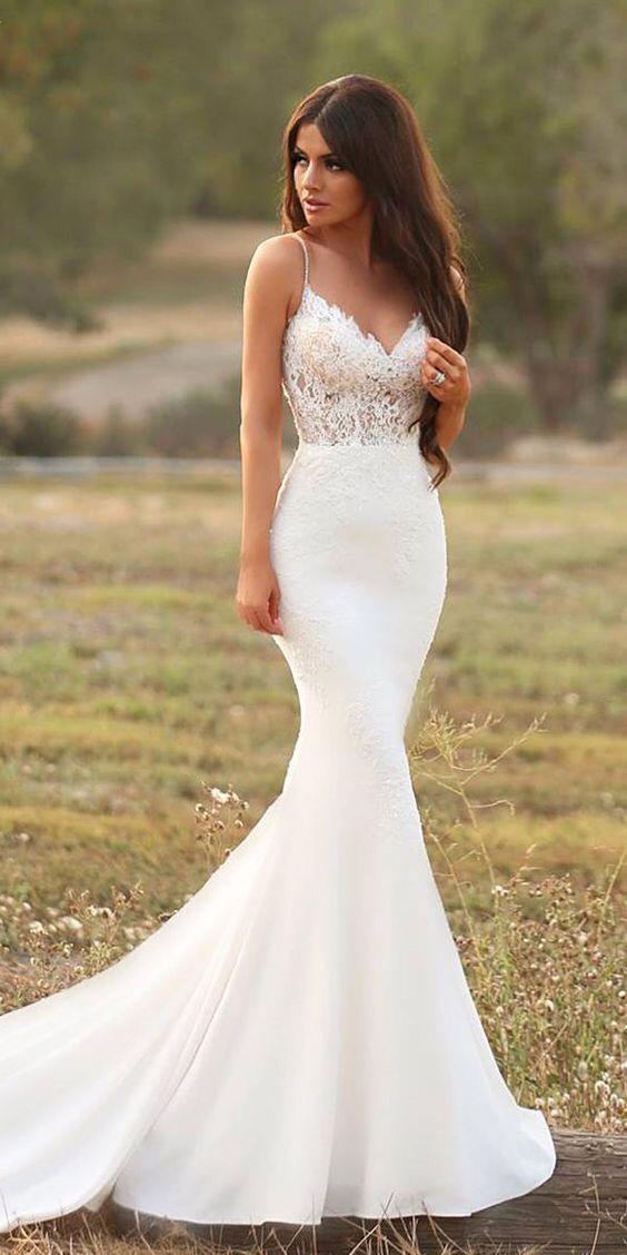 فستان زفاف بتصميم حورية البحر