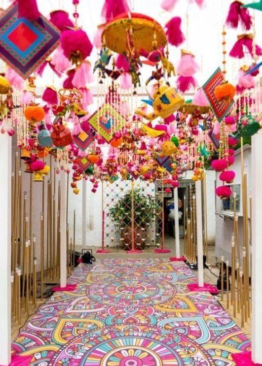 مدخل قاعة الزفاف
