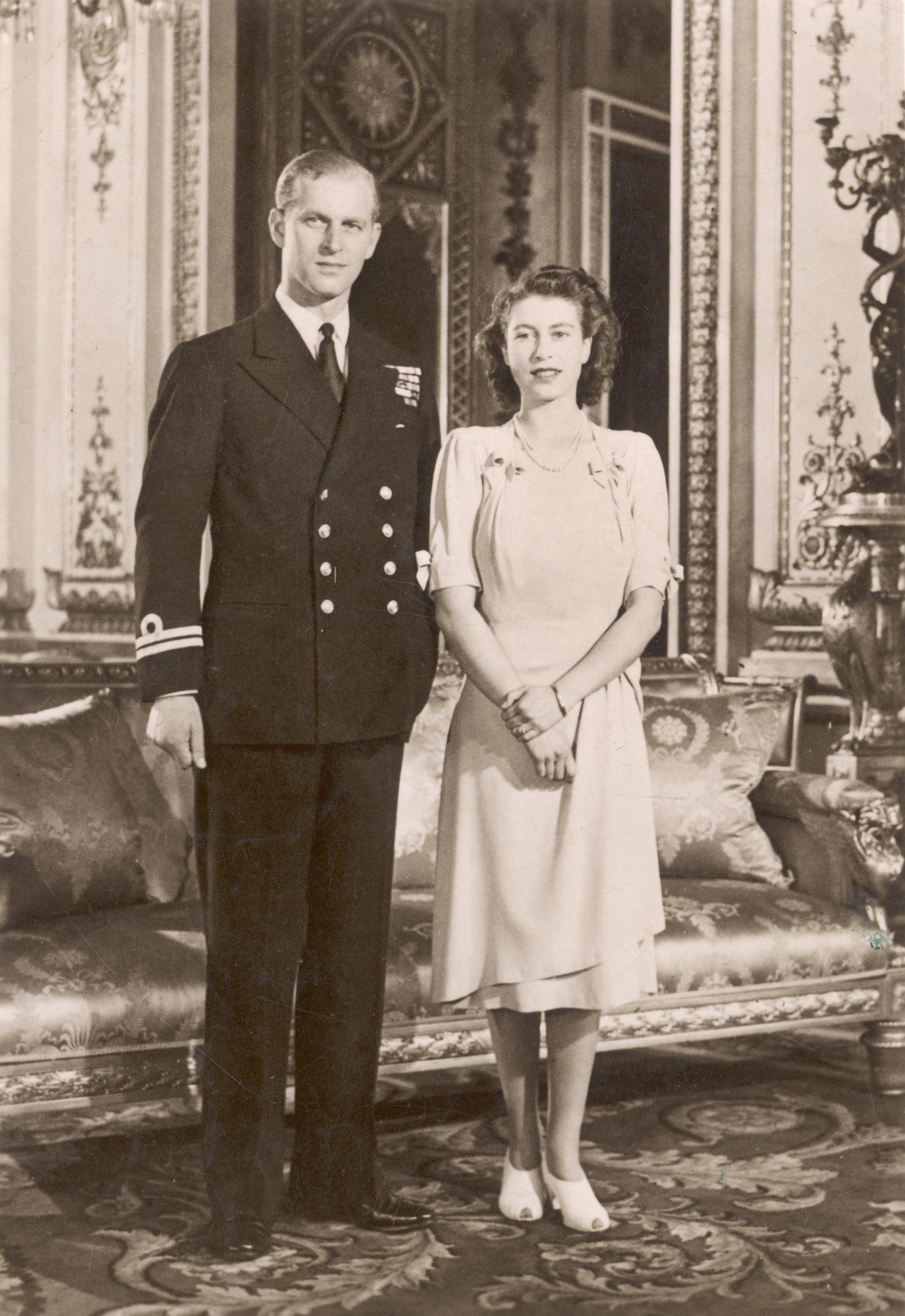 الملكة اليزابيث – 1947: