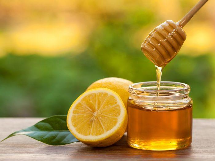 ماسك والليمون والعسل