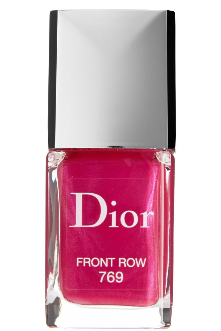 Dior Vernis Gel Shine & Long Wear Nail Lacquer in Front Row