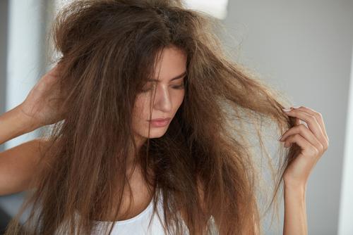 شعر مجعد