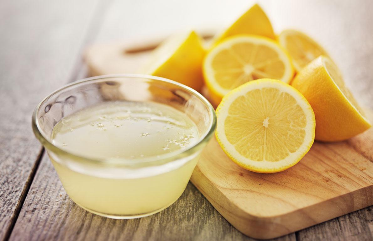 عصير الليمون للتخلص من علامات الشيخوخة