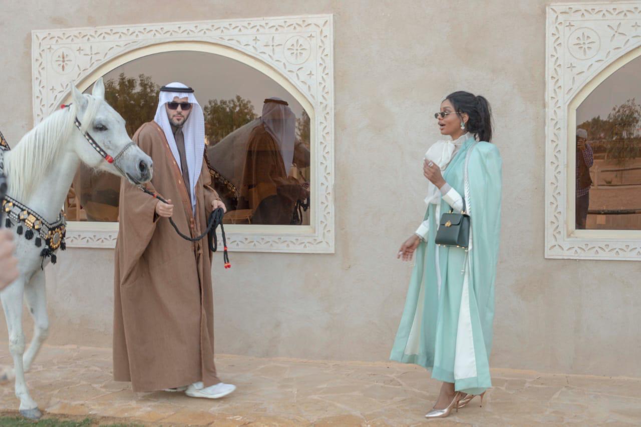 الفارس هاني الهلال بصور مجموعة ذا بشت