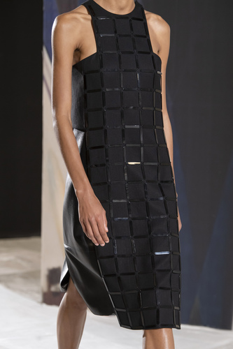 فستان أسود ميدي من Hermès