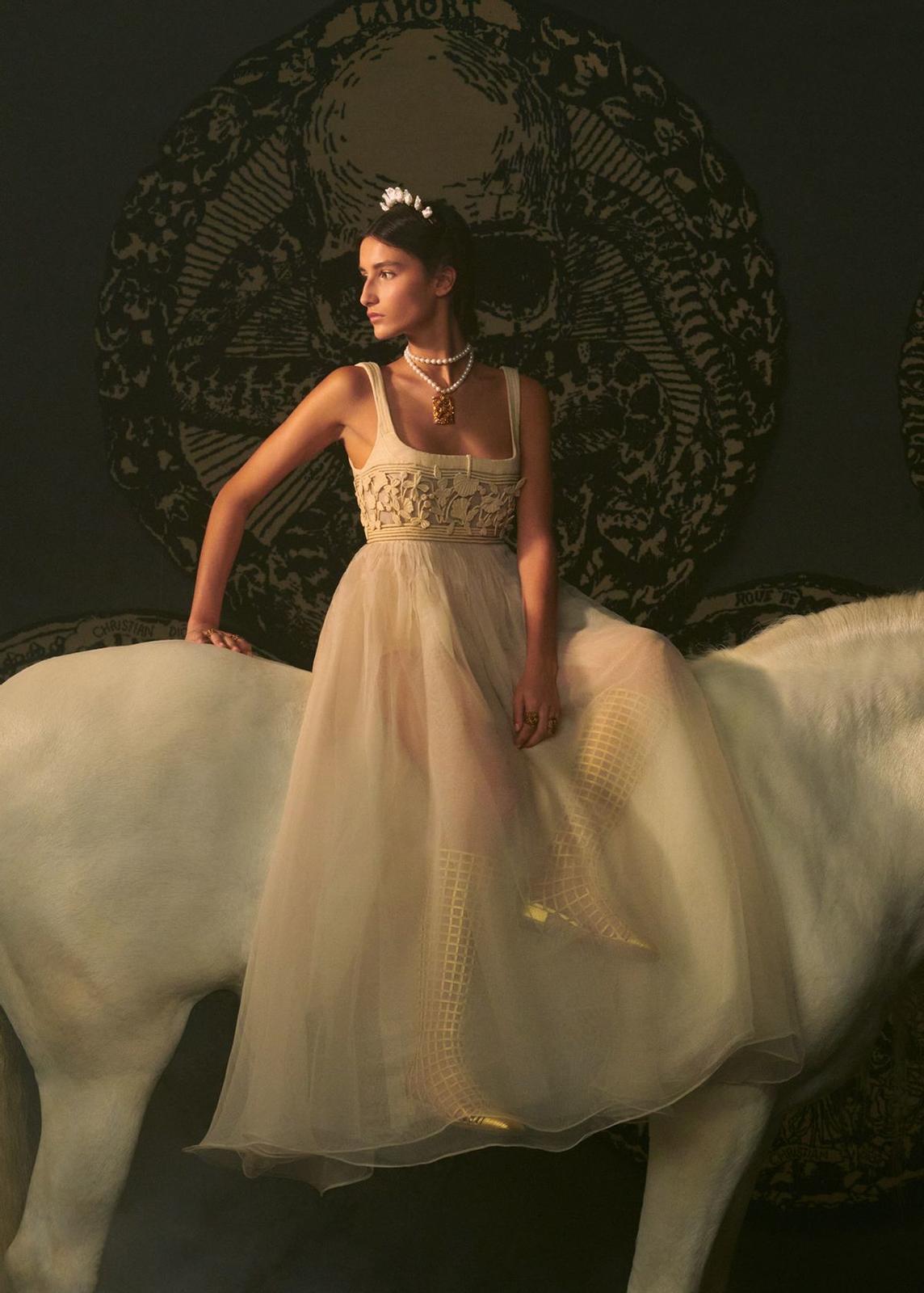 فستان ديور Dior