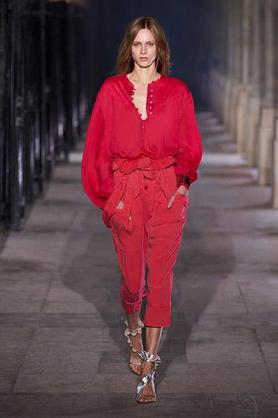 جمبسوت أحمر من إيزابيل ماران Isabel Marant