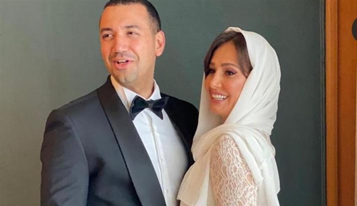 الصورة الرسمية لحفل زفاف حلا شيحة ومعز مسعود