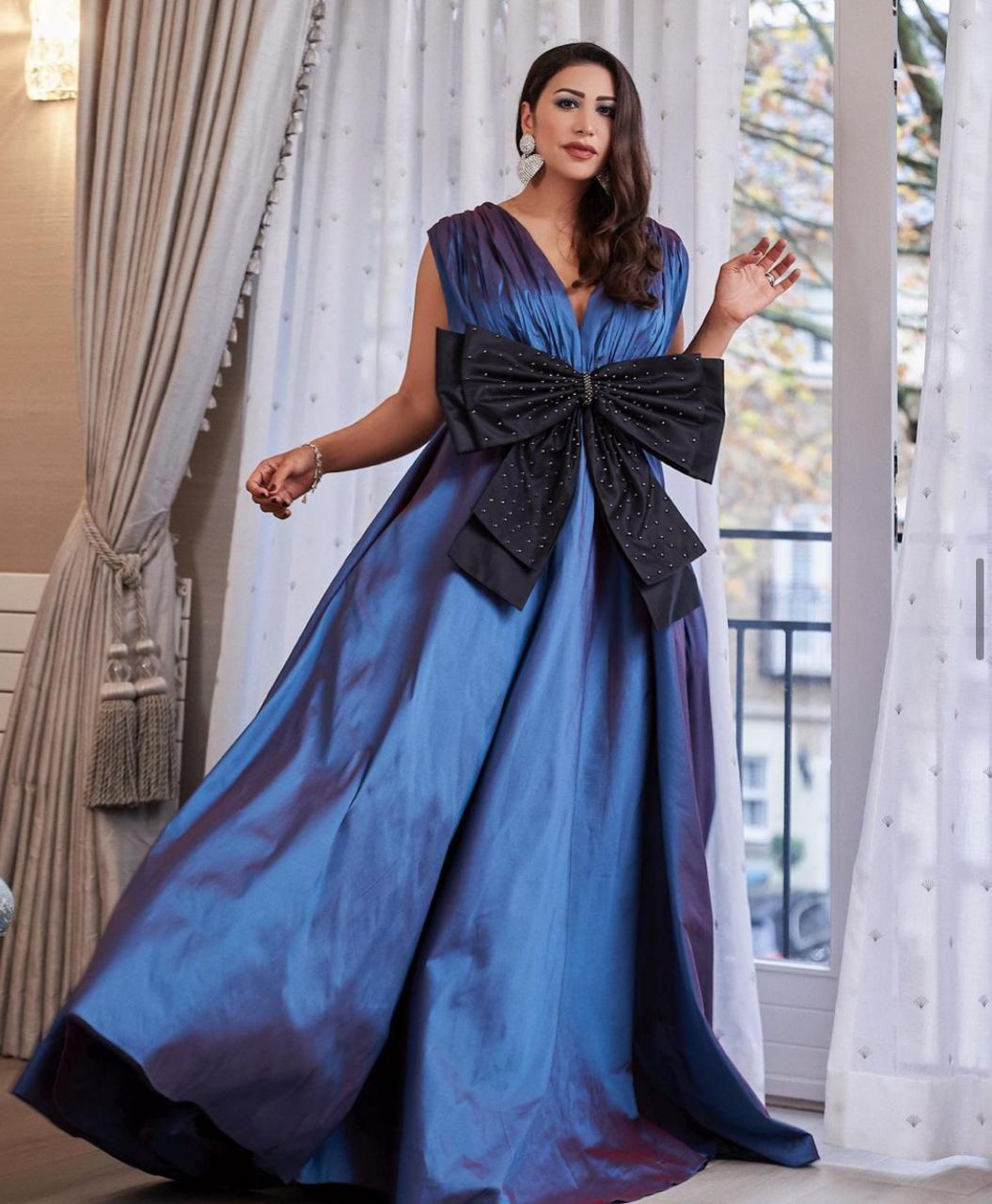 فستان مناسبات مميز من مايا وليمز