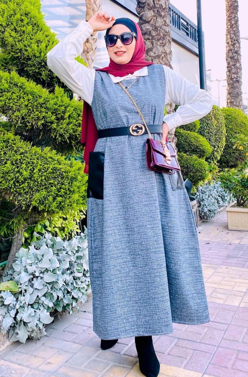 الاء نوبل بفستان ناعم