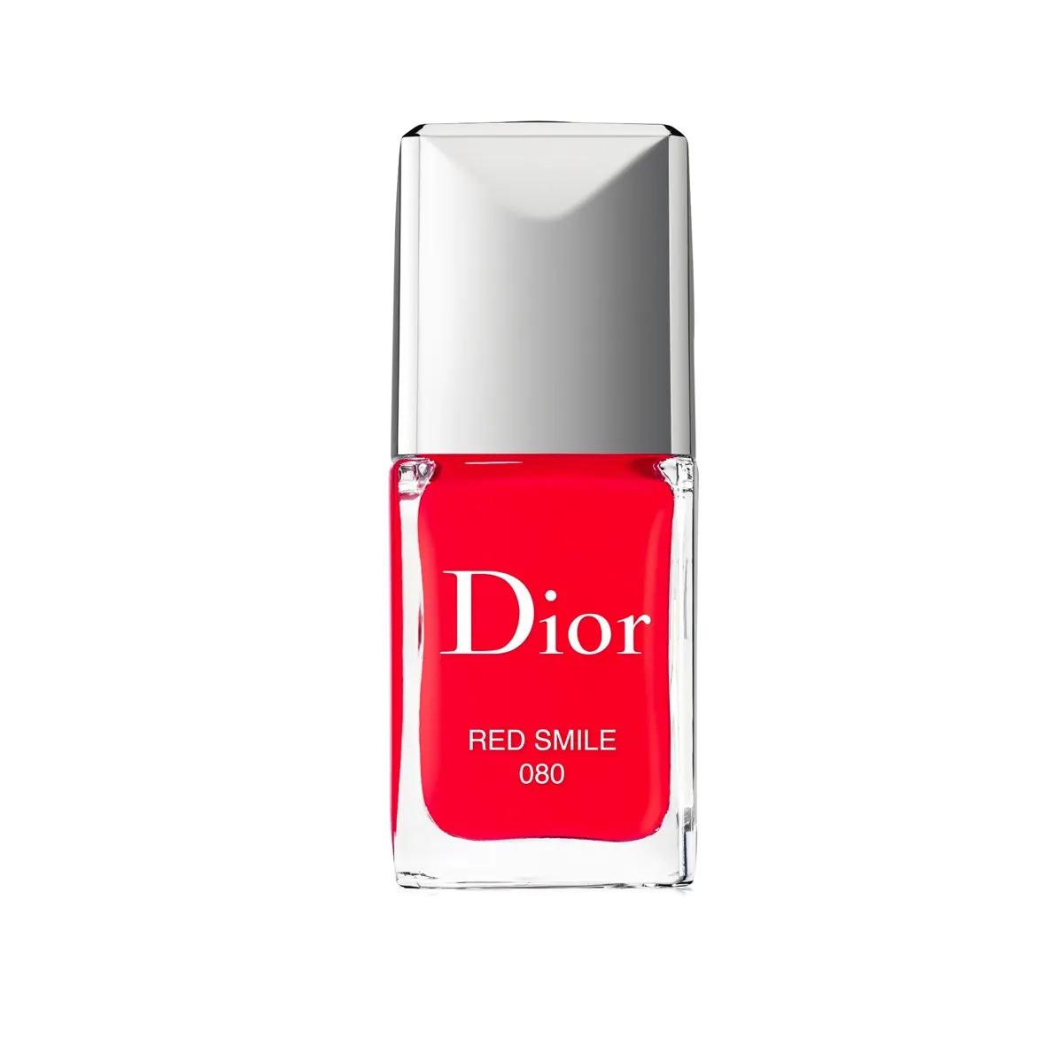 Dior Vernis Gel Shine in Red Smile