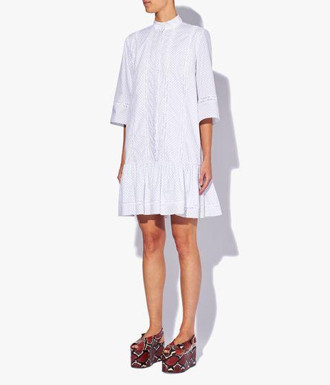 فستان ابيض من Erdem