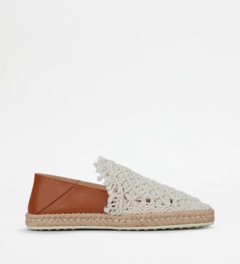 حذاء أبيض من Tod's