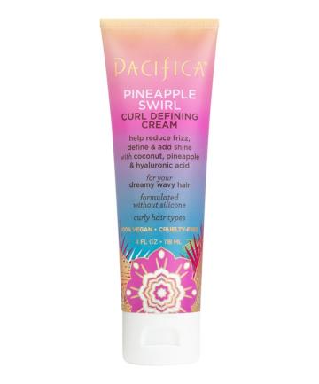 Pacifica Pineapple Swirl Curl Defining Cream