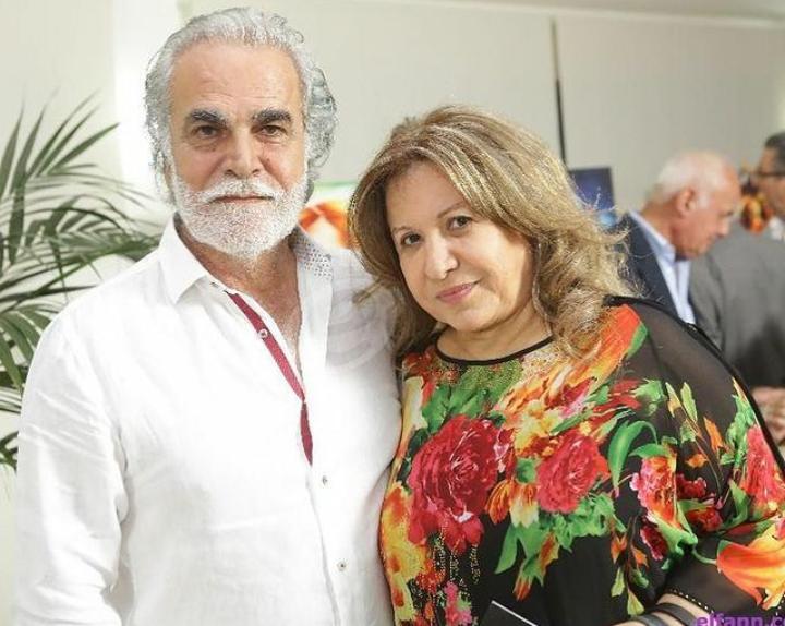 رفيق علي أحمد وزوجته