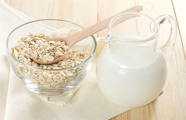 غسول الشوفان والحليب للوجه