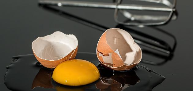 غسول صفار البيض للبشرة