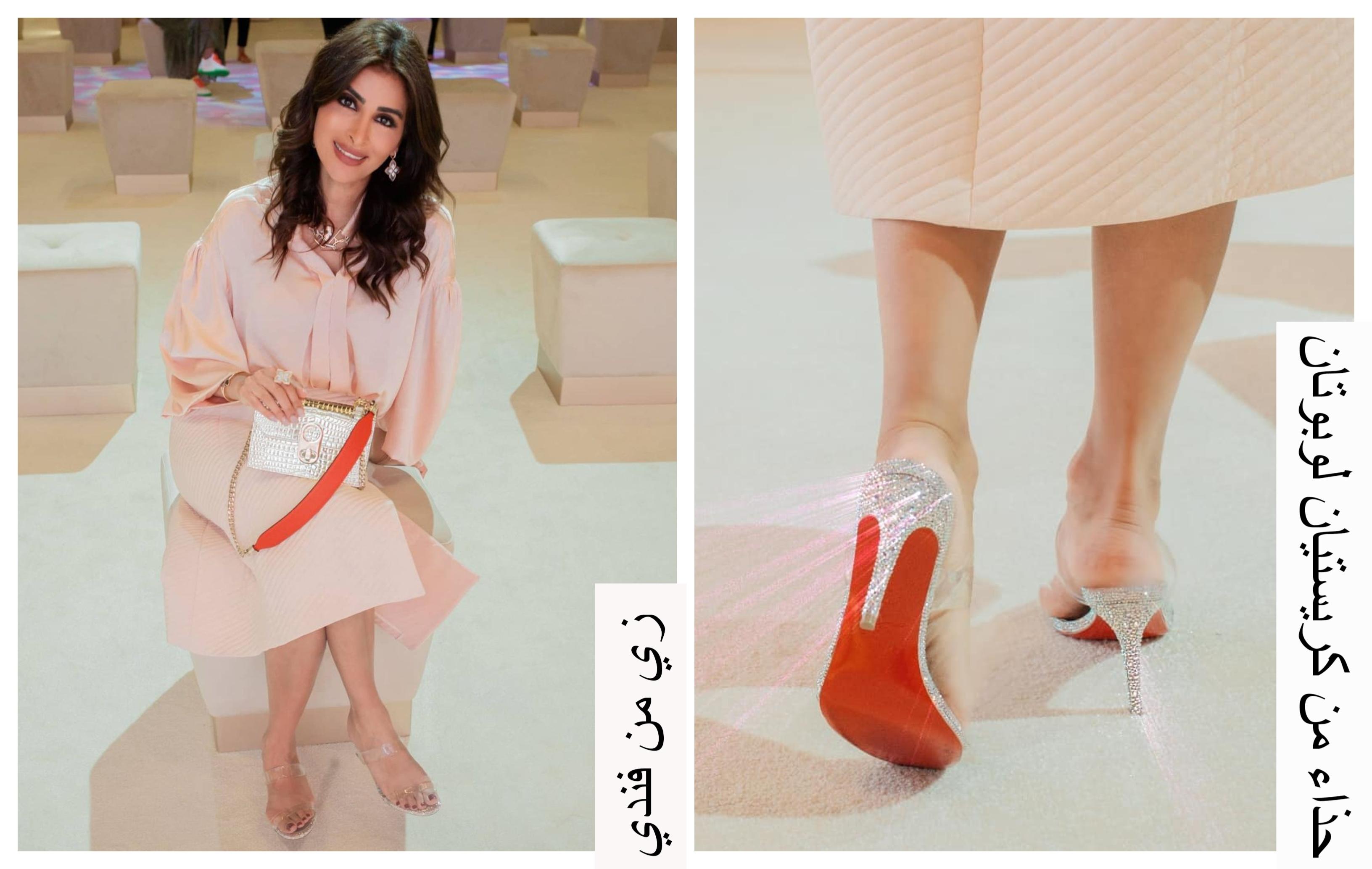 روزمين وحبها لحذاء النعل الأحمر