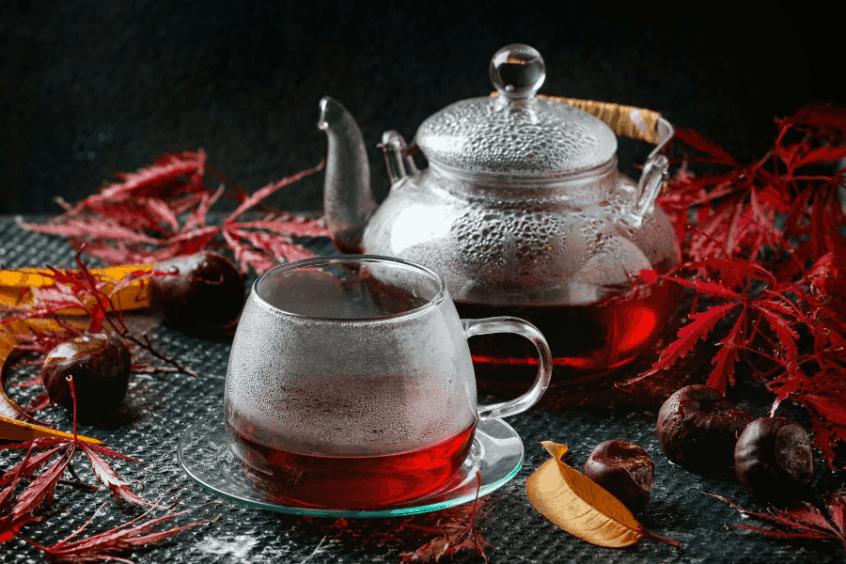 الشاي لشعر العروس