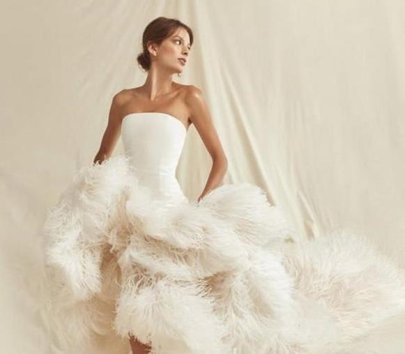 فستان زفاف اوسكار دى لارنتا Oscar de la Renta